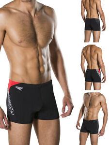 Speedo Mens Boom Splice Aquashort Swimming Trunks Leisure Beach Shorts