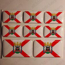 Pegatinas Vitoria-Gasteiz España Pegatina Bandera Adhesivo Ciudad 3D Relieve