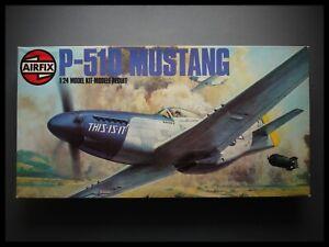 AirFix North American P-51 Mustang 1:24 Model Kit Sealed Bag