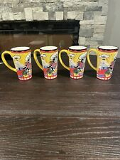 New listing Catzilla by Candace Reiter 2002 Decorative Mug Coffee Cup Lot Of 4 Cooking Cats