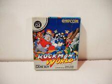 Rockman World Mega Man Nintendo Game Boy GB Jap NTSC