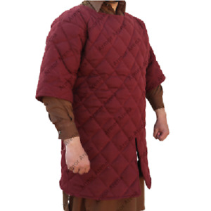 Medieval Thick Padded Gambeson suit of armor quilted costumes theater