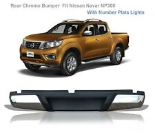 FOR FIT NISSAN NAVARA NP300 2016 ONWARDS REAR BUMPER NEW INSURANCE APPROVED NEW