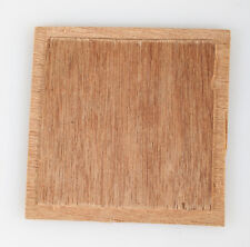 WOODED LENS BOARD 4 INCH SQUARE 3.5 INCH BACK RECESS