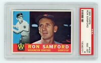 1960 Topps #409 Ron Samford - PSA 8 NM/MT     **BEAUTIFUL & CENTERED**