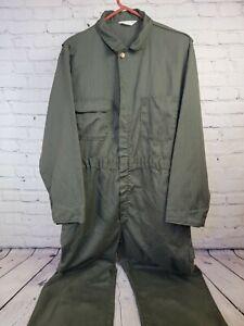 vintage big mac Coveralls 44r Usa Made Herringbone Talon Zip Mechanic workwear