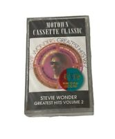 New Stevie Wonder Greatest Hits Volume 2 Cassette Tape Motown Classic Sealed Vol