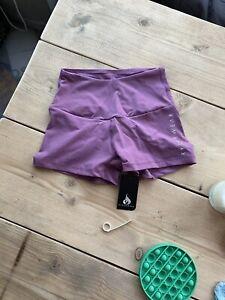 Ryderwear Scrunch Bum Shorts Mauve Colour XS