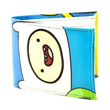 Official Adventure Time Finn and Jake Sides Bi-Fold Wallet - Cartoon Network New