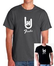 Camiseta hombre Fender guitars T shirt men varias tallas different sizes músico