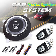 Car Keyless Entry Ignition Engine Start Push Button Remote Control Entry Button