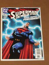 "SUPERMAN THE MAN OF STEEL #118 NM ""WAR CRIMES & PUNISHMENT"" HAL JORDAN SPECTRE"