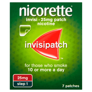 NICORETTE STEP 1 PATCHES, 7 PATCHES FOR ONLY £8.99