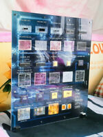 Vintage Intel History 4004~Pentium Pro CPU Technology Art Wall Decorative Frame