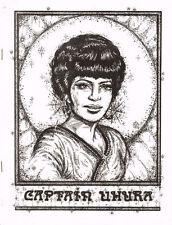 "Star Trek TOS Fanzine ""Captain Uhura"" GEN"