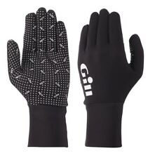 Gill Flexible Performance Fishing Gloves - XXL - Black - Ideal for Cool Weather