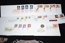 Set of 51 Holiday - Christmas -  First Day of Issue Stamps