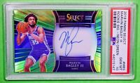 2018-19 Select MARVIN BAGLEY Rookie Auto Neon Green RC /99 PSA 10 🏦 Rare 🏦