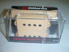 DIMARZIO DP126 Model P + J Bass Guitar Pickup SET - CREME