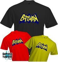 RETRO BATMAN - Sheldon Cooper - Big Bang Theory - Quality T Shirt - NEW