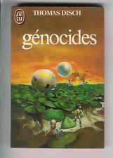 """Thomas Disch : Génocides """" Editions J'ai Lu S.F.  """""""