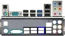 ATX pannello I/O Shield MSI 970a-g46 870u-g54 NUOVO io #81 Backplate BRACKET NEW