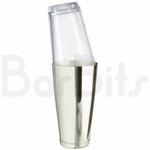 BarBits Professional Boston Cocktail Shaker & Glass - 28oz & 16oz Drink Mixing