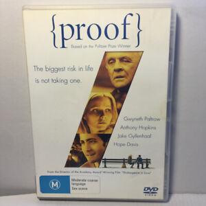 Proof  (DVD, 2005) Region 4 PAL