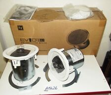 EV electro voice evid c4.2 4 pouce deux voies coaxial Installation Haut-parleur blanc 50w