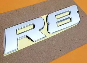 HSV VY VZ R8 Chrome Badge For Clubsport Maloo R8