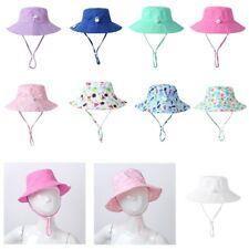 Sun Hat Baby UPF 50+ Sunscreen Protection Wide Brim Summer Swim Beach Pool Cap