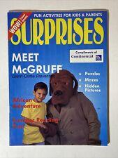 Surprises Children's Magazine LISA FRANK ADS July August 1991 MCGRUFF CRIME DOG