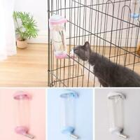 Pet Water Feeder No Drip Cage Hanging Automatic Drinking Bottle for Puppy Cats
