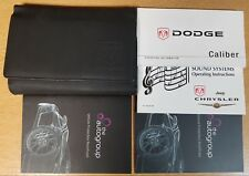 GENUINE DODGE CALIBER HANDBOOK OWNERS MANUAL 2006-2009 PACK G-884