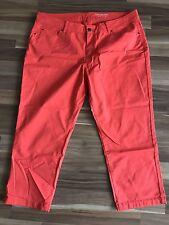 Esprit Shorts Bermuda Rot Gr 44 Neu Capri