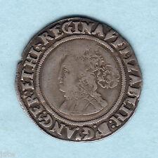 New listing Great Britain. 156(4?) Elizabeth 1, Sixpence. Mm-Pheon. Near Full Flan. gF