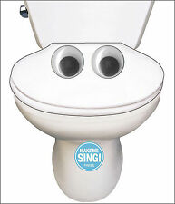 Noisy Funny Singing Toilet Song Birthday Sound Greeting Cards - NEW, HUMOUR, JOK