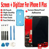 A1897 Replacement Apple iPhone 8 Plus Touch Screen Digitizer LCD Assembly Black