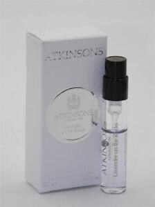 Atkinsons Lavender On The Rocks EDP Vial Sample 0.06 fl oz 2ml New In Box