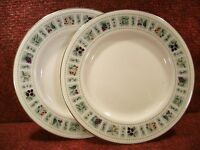 "PAIR of ROYAL DOULTON ""TAPESTRY"" 6.5"" TEA PLATES TC1024 - FREE UK POSTAGE"