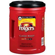 Folgers Classic Roast Ground Coffee 48 oz. 2-pack