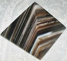 STUNNING **AGATE** Crystal PYRAMID / 6.5CMS X 5.5CMS / LOVELY PATTERN / A1 GRADE
