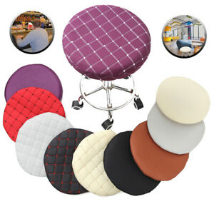 Bar Stool Cover Replacement Chair Seat Round Cushions Slipcover Protector