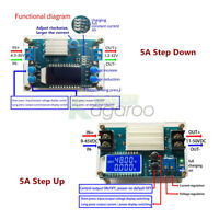DC-DC 5A Boost Buck Step-Up/Down Constant Voltage Current Power Supply Module