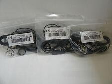 (Lot of 3)Motorola Sjyn0394A 3.5mm Wired Stereo Headset Earphones Headphones Blk