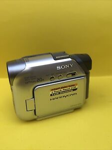 Sony Handycam DCR-HC21 Mini DV Camcorder works Great Charger Included