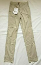 "Private White VC Riviera Brushed Cotton Stone Trousers 28"" BNWT RRP £185"