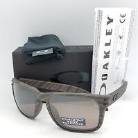 NEW Oakley Holbrook sunglasses Woodgrain Prizm Daily Polarized 9102-B7 Wood  grey 6c13ef8f1a