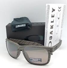 NEW Oakley Holbrook sunglasses Woodgrain Prizm Daily Polarized 9102-B7 Wood grey