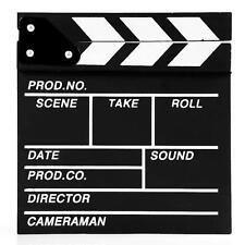Director Video Scene Clapperboard TV Movie Clapper Board Film Cut Prop